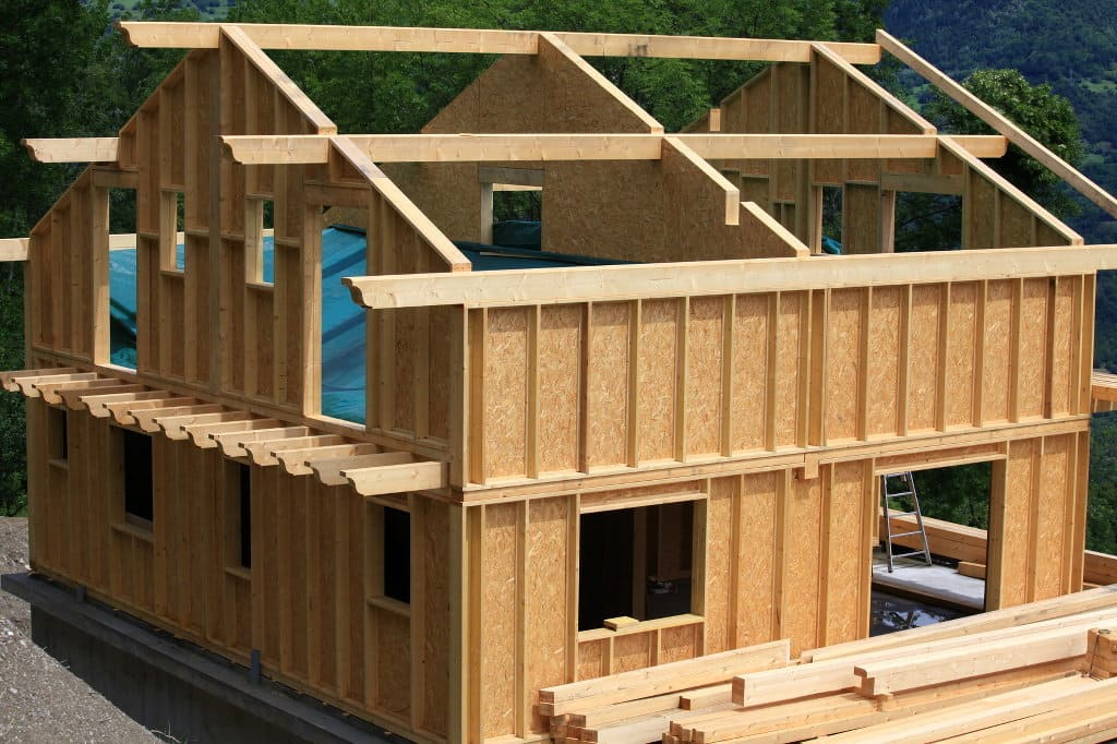Holzrahmenbau  Holzrahmenbau und Holzskelettbau - Verflock aus Verden bei Bremen